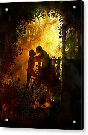 Romeo And Juliet - The Love Story Acrylic Print