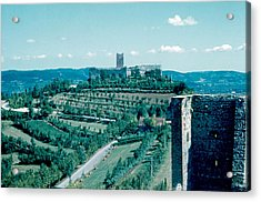 Romeo Castle 1962 Acrylic Print by Cumberland Warden