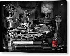 Romeo's Elixir Of Death Acrylic Print by Lee Dos Santos