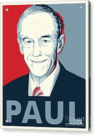 Ron Paul Acrylic Print