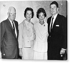 Ronald And Nancy Reagan Acrylic Print
