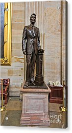 Ronald Regan -  U S Capitol Statuary Hall Acrylic Print by Allen Beatty