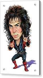 Ronnie James Dio Acrylic Print by Art