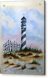 Ron's Lighthouse Acrylic Print