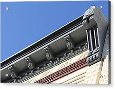 Roof Detail Acrylic Print by Jp Grace