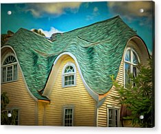 Roof - For Some Reason Acrylic Print by MJ Olsen