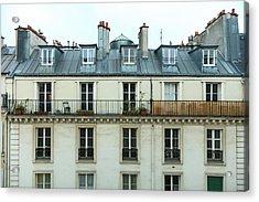 Roof Of Paris Acrylic Print