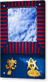 Roof Top With Opening Acrylic Print by William Voon