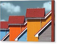 Roofs Acrylic Print