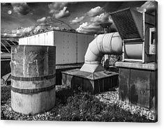 Roofscape Acrylic Print by Arkady Kunysz