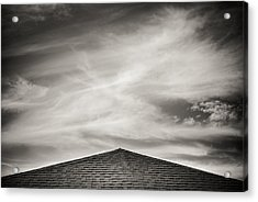 Acrylic Print featuring the photograph Rooftop Sky by Darryl Dalton
