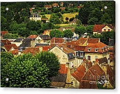 Rooftops In Sarlat Acrylic Print