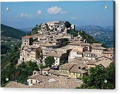 Rooftops Of The Italian City Acrylic Print by Dany Lison