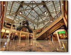 Rookery Building Main Lobby And Atrium Acrylic Print