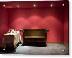 Acrylic Print featuring the photograph Room Service by Lynn Palmer