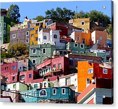 Rooms With Views Acrylic Print by Douglas J Fisher