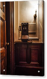 Roosevelts Phone - Hyde Park Ny Acrylic Print by Bill Cannon