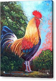 Rooster For Elaine Acrylic Print