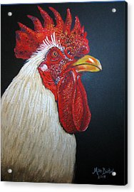 Rooster Profile#2 Acrylic Print