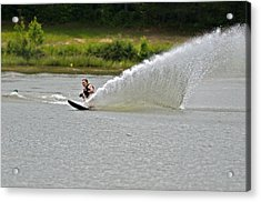 Rooster Tail Acrylic Print by Susan Leggett