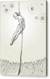 Rope Act Acrylic Print