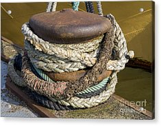 Ropes Acrylic Print by Patricia Hofmeester