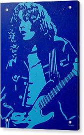 Rory Gallagher Acrylic Print by John  Nolan
