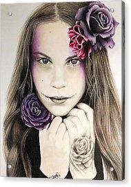 Rosaline Acrylic Print