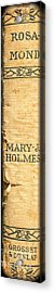 Rosamond By Mary J. Holmes Acrylic Print by Edward Fielding