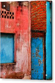 Acrylic Print featuring the photograph Rosa's Place by Skip Hunt