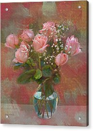 Rose Bouquet Acrylic Print by Sandi OReilly
