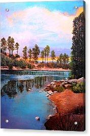 Rose Canyon Lake 2 Acrylic Print