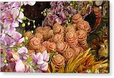 Rose Chicks Acrylic Print