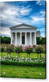 Rose Park Acrylic Print by Viacheslav Savitskiy