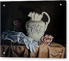 Rose Pitcher Acrylic Print