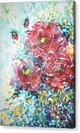 Rose Summer Delight Acrylic Print