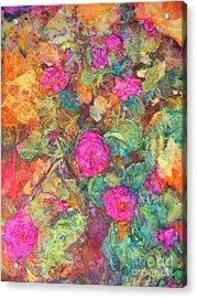 Rose Tree Acrylic Print