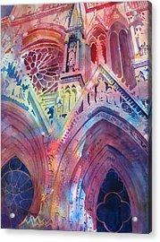 Rose Window Acrylic Print