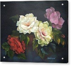 Roses-4-you Acrylic Print