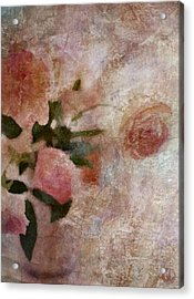 Roses Are Always Roses Acrylic Print