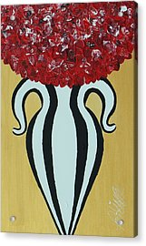 Roses For Her Curves Acrylic Print