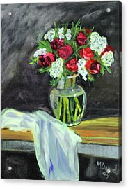 Roses For Mother's Day Acrylic Print
