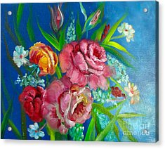 Roses Roses Jenny Lee Discount Acrylic Print