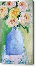 Roses Acrylic Print by Venus