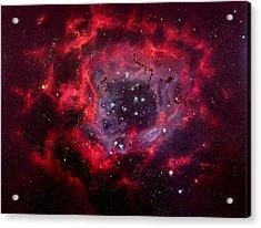 Rosetta Nebula Acrylic Print by Marie Green