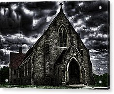 Roseville Ohio Church Acrylic Print