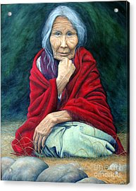 Rosie Remembered Acrylic Print by Joey Nash