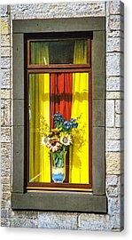 Roslin Window Acrylic Print by Ross Henton