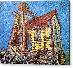 Ross Island Lighthouse Acrylic Print