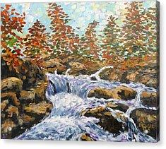 Rosseau Falls Acrylic Print